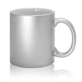 Кружка SubB17JZ, серебряная