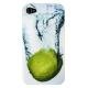Чехол для iPhone 4/4S, пластик белый