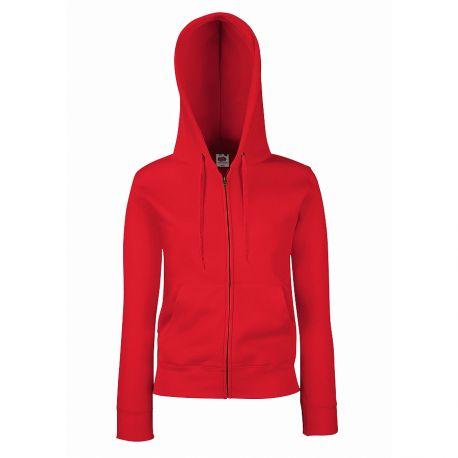 "Толстовка женская ""Lady-Fit Hooded Sweat Jacket"""
