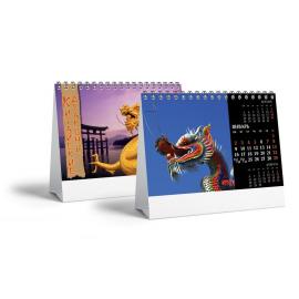 Настольный перекидной календарь 12 листов
