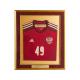 Футболка Сборной России в багетной раме.