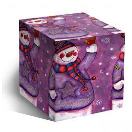 Коробка для кружки Снеговик