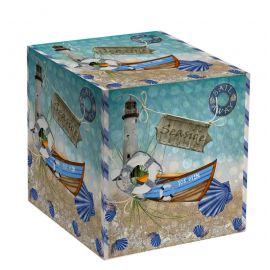 """Коробка для кружки """"Морская"""""""