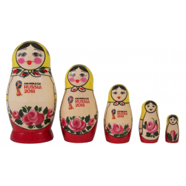 "Матрешка 5-ти кукольная ""Фифа"""